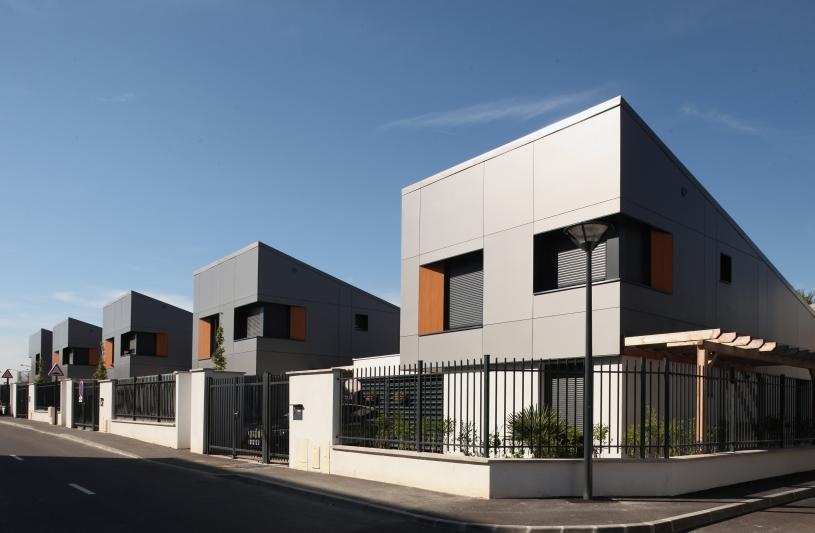 Chelles Laennec - Construction de 28 logements sociaux individuels et intermédiaires