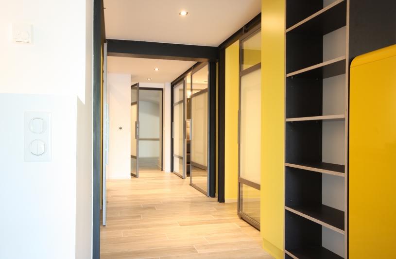 Rénovation appartements architecte Philippe BAUD