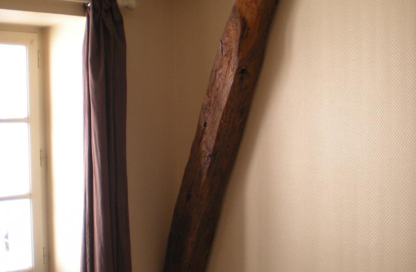 Etat des lieux: cloison à abattre entre salon et chambre