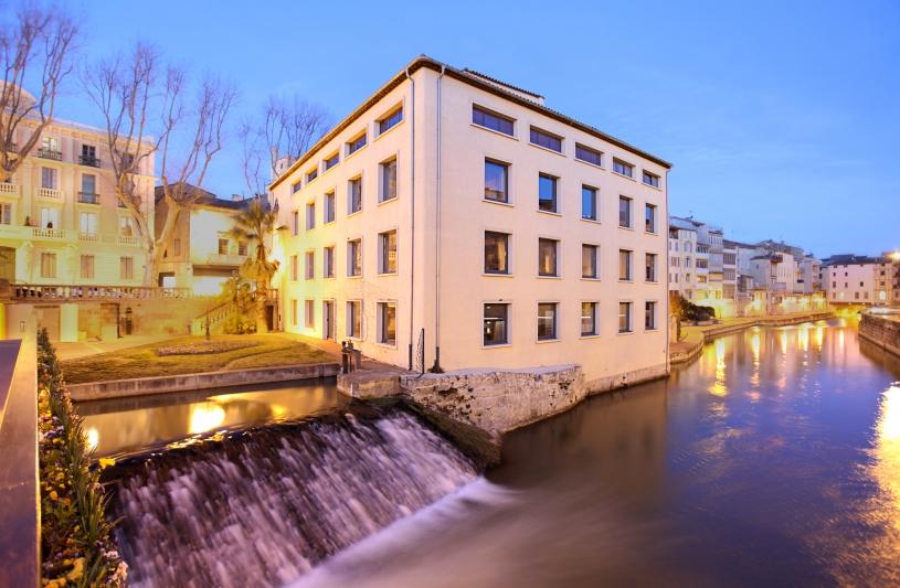 Leonard Architecture Office de Tourisme Narbonne