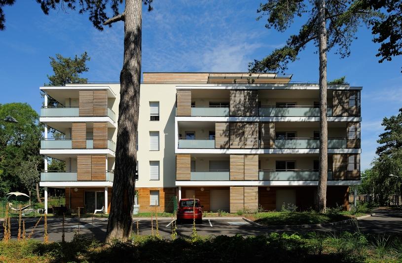 """Logements collectifs """"Villas Saint-Cyr"""" - Lyon 9ème - Archigroup Architectes - façades"""