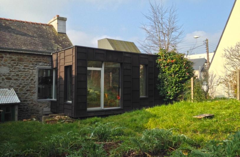 Laboratoire d 39 architecture de bretagne ordre des architectes for Extension maison bretagne