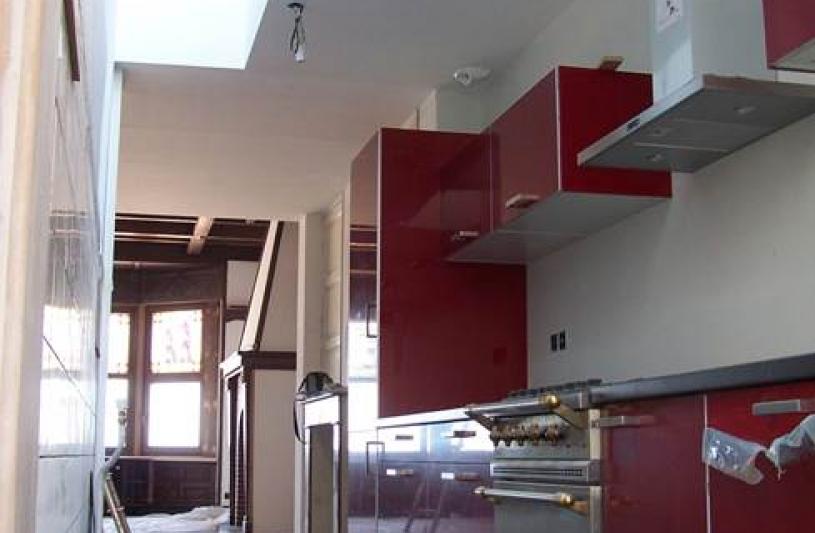 la cuisine en enfilade