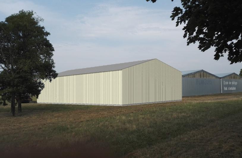 insertion dans le site Hangar Ailes Anciennes Thouarsaises