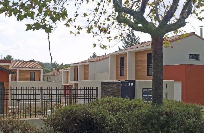St Gély-du-Fesc - Lilavady - Façades avenue Mas de Finet