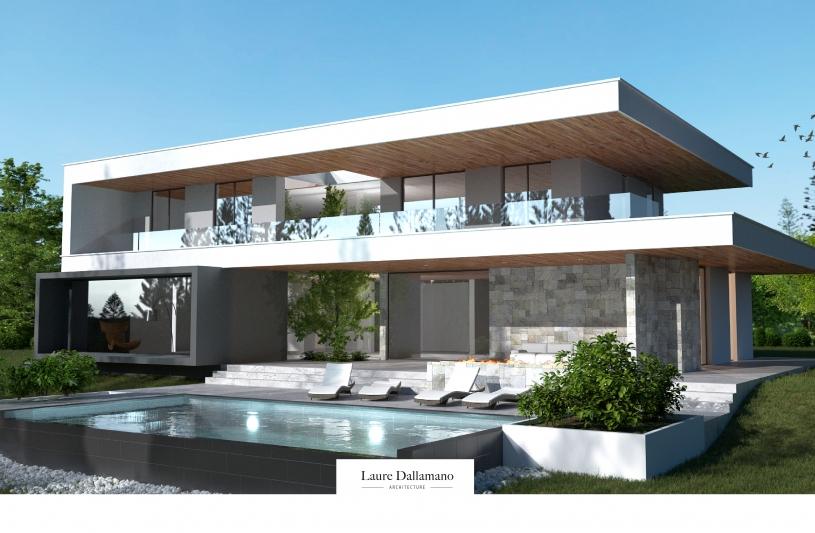 Villa architecte Brunstatt - jour