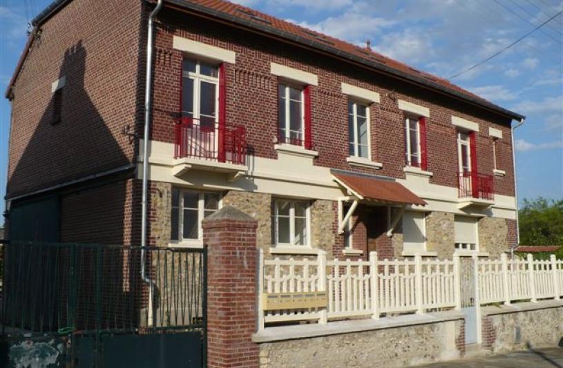 Maison divisée en appartements