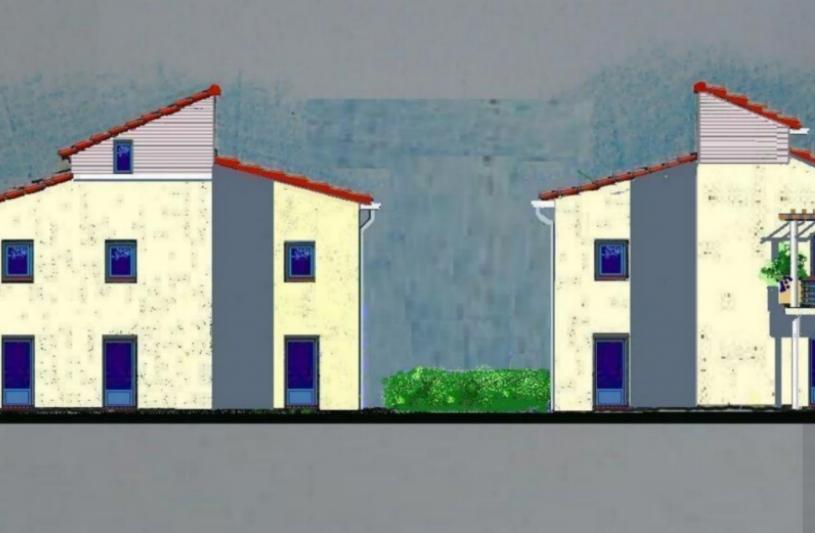Proposition de façades de l'immeuble