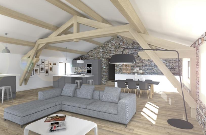 Rénovation d'une maison & Transformation d'une remise à Oupia, Hérault