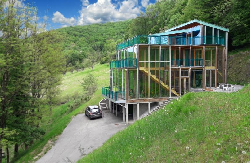 Maison bioclimatique à Montfaucon (Doubs)