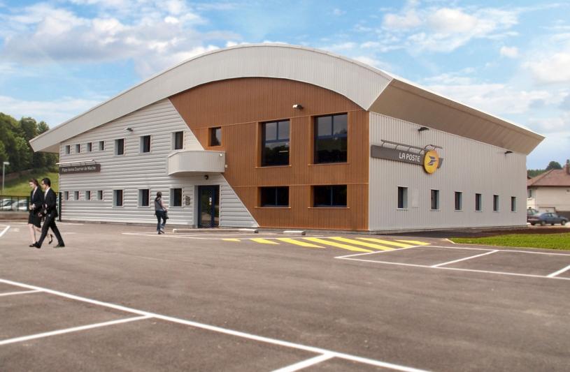 Centre tri postal à Maîche (Doubs)
