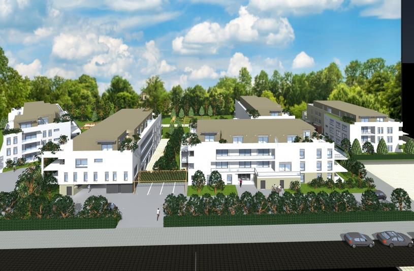 #Projet résidentiel dans le Haut Rhin# promotion privée