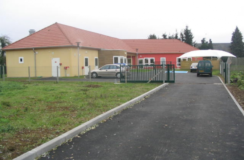 Ecole construite en trois mois