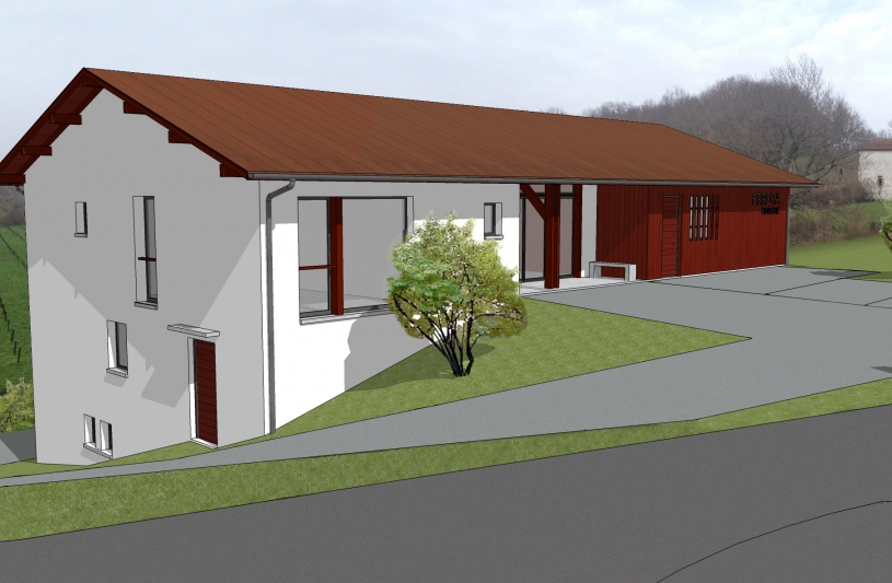 Tertiaire-Pays Basque-Huilerie-Native-Architecture 1