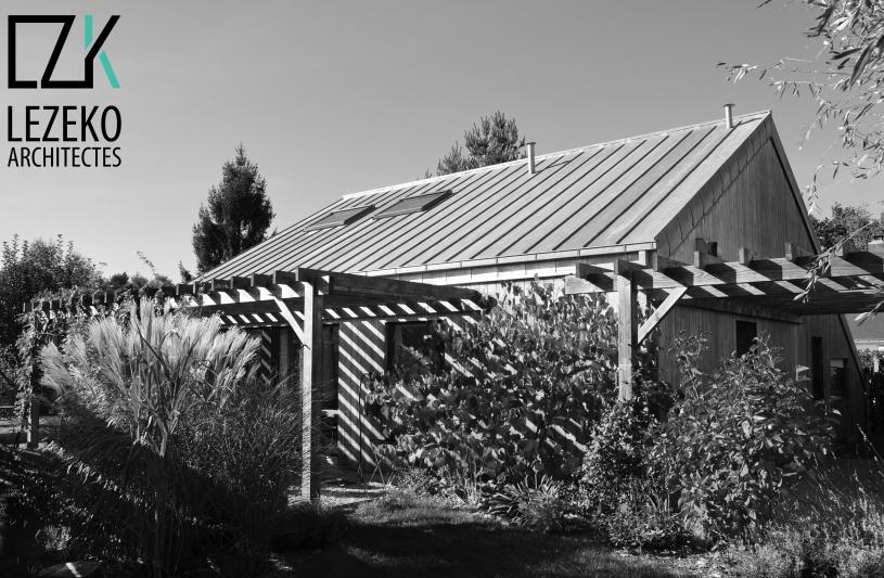 Maison passive bioclimatique Lezeko Architectes