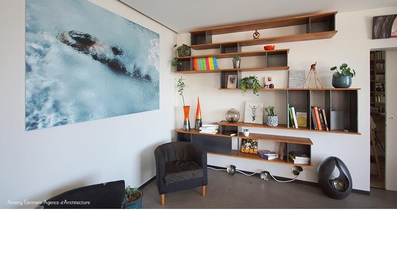 Aménagements intérieurs, études d'ambiances, création de mobilier.