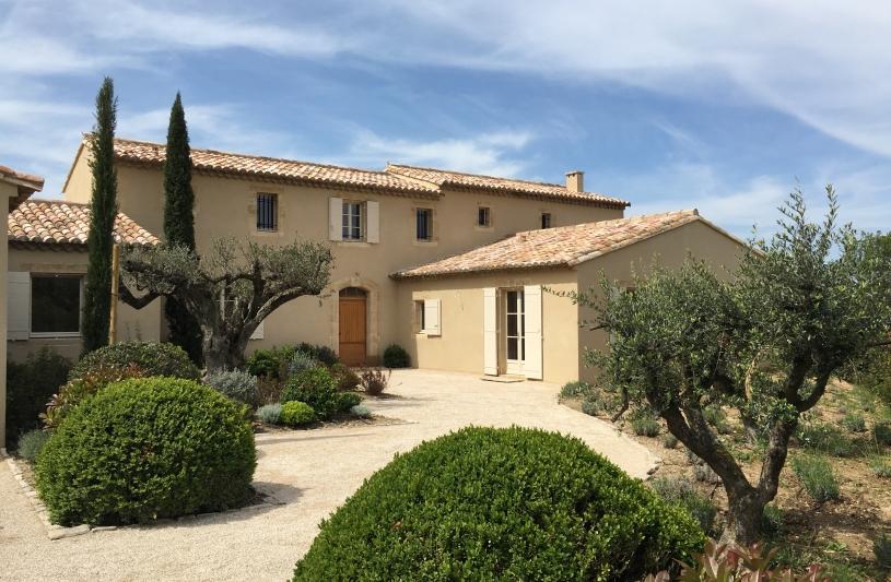 Architecte Maussane Alpilles Mas Provençal