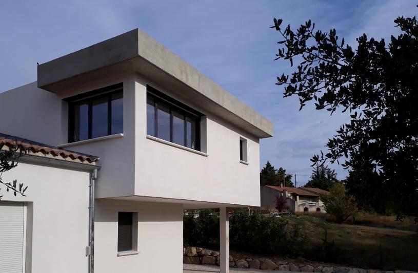 Am architecture marie felix architecte graveson for Architecte rhone