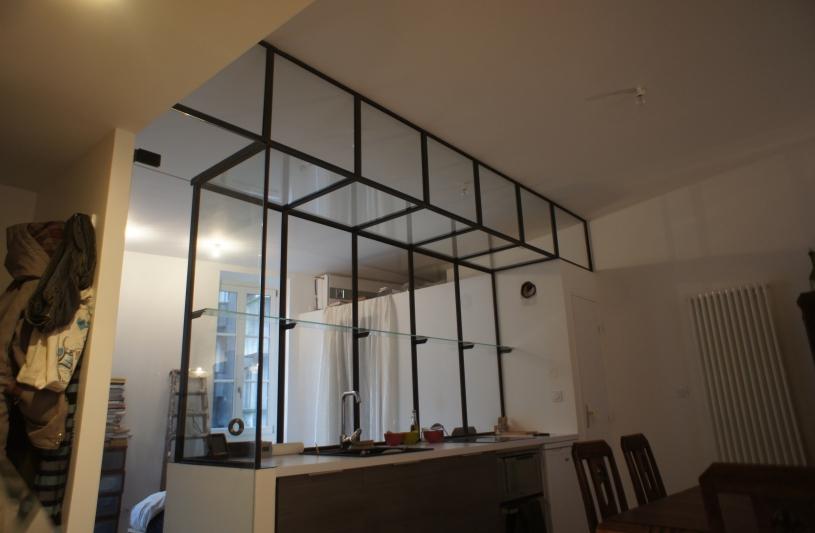 ARTICLE.35 ARCHITECTURE rénovation total d'un appartement // Nantes quartier Gare verrière