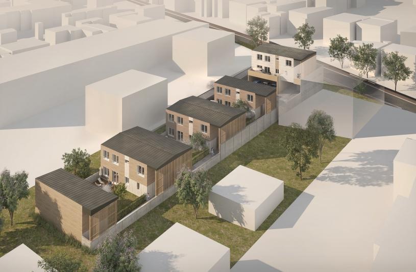 9 logements sociaux, Nanterre (92)