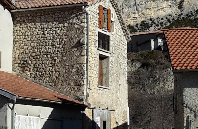 vue de la façade sud