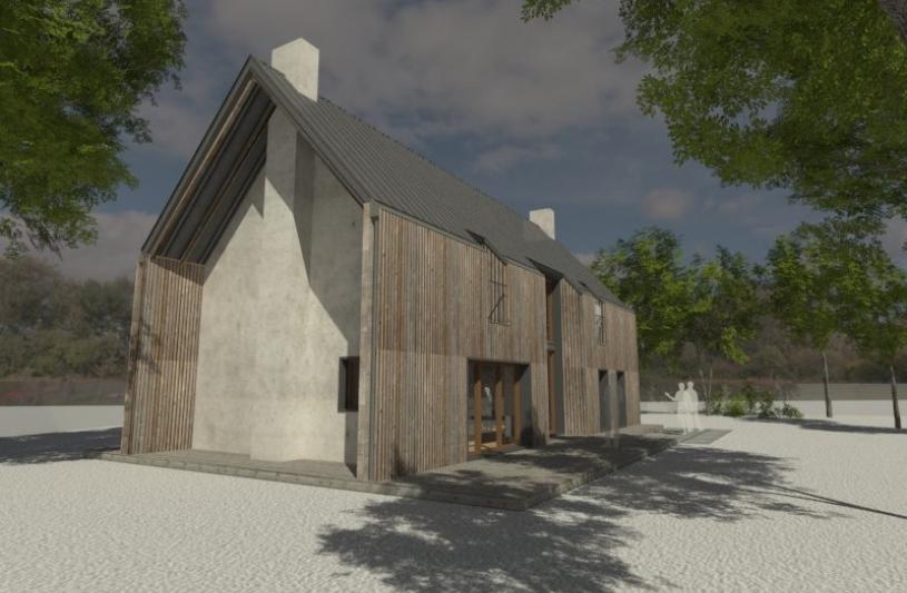 maison, bois, Bretagne, patrimoine, architecture, architecture bretonne