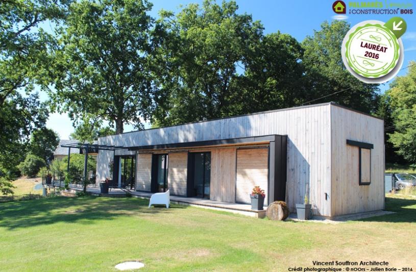 Lauréat du prix maison contemporaine 2016 en Limousin