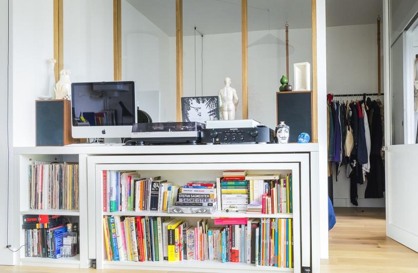 paris, appartement, rénovation, meuble, sur mesure, studio, deux pièces, petite surface