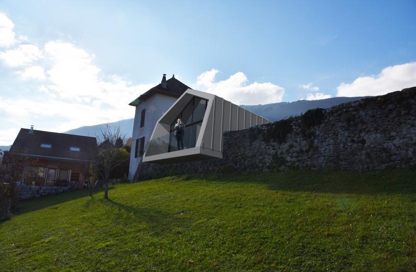 extension de 70 m²