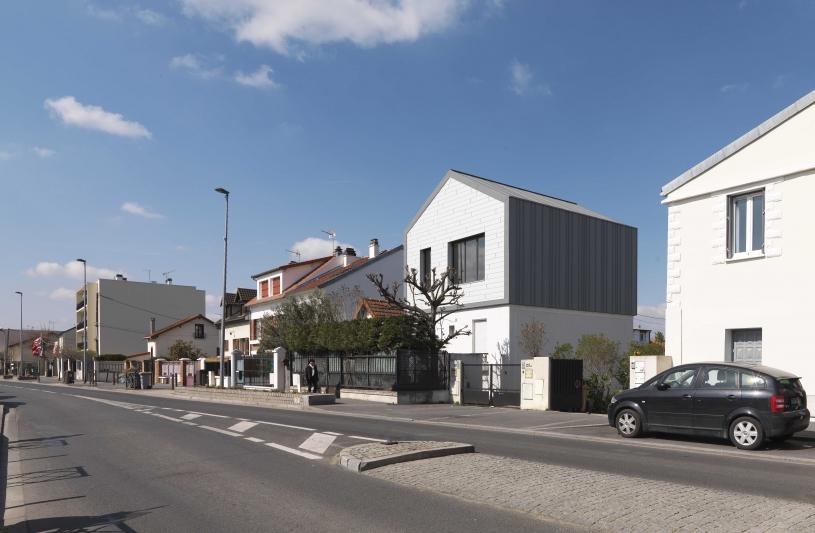 Made With, Architecte, Surélévation, Structure bois, Prefabriqué, Aluminium