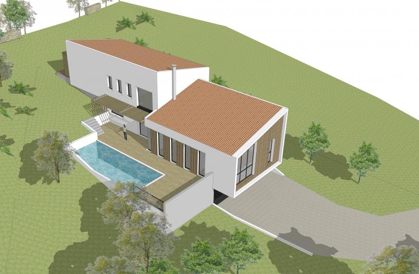 villa B coté piscine