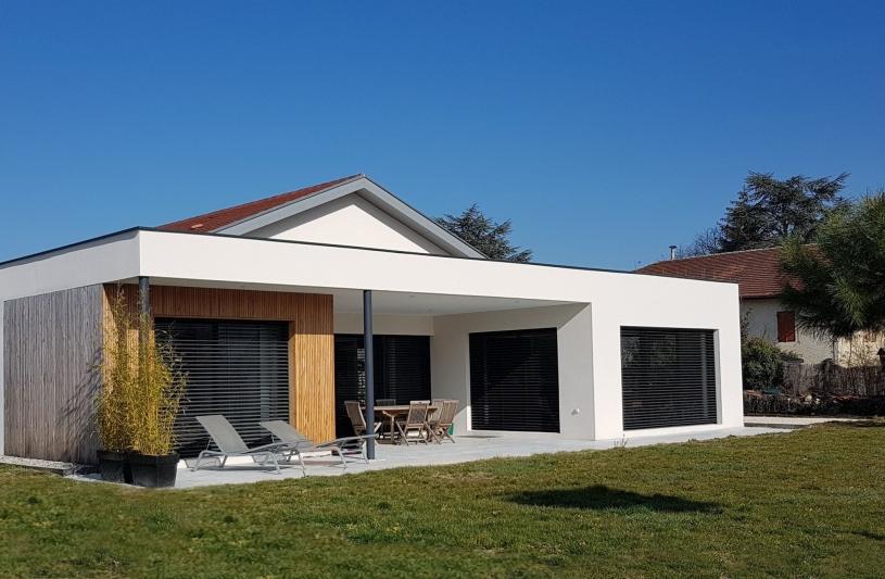 Maison ML - Façade Sud-Ouest