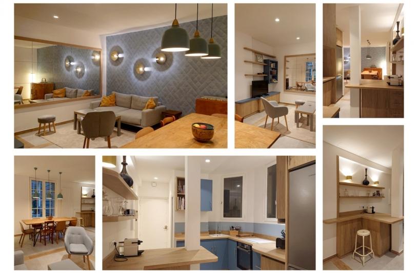 photos de l'appartement transformé