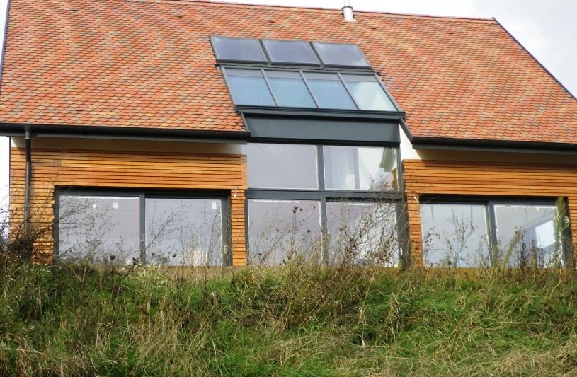 Cabinet d 39 architecture ferjantz birgit mittelbergheim bas rhin ordre des architectes - Maison neuve bbc ...