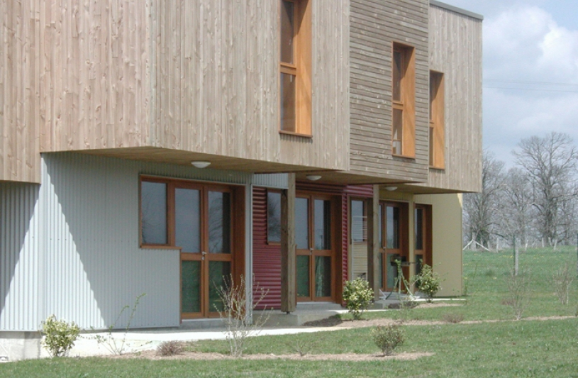 façade extérieur des batiments du gite