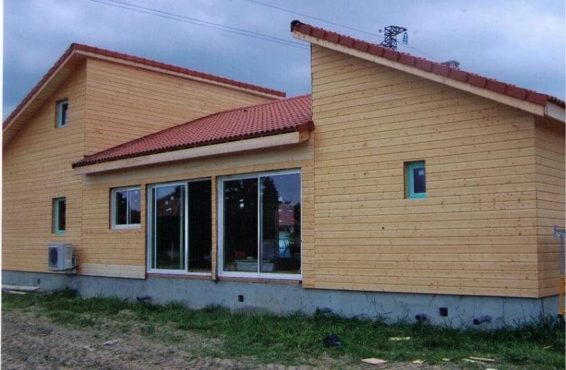 Architecture Eric Agro maison bois
