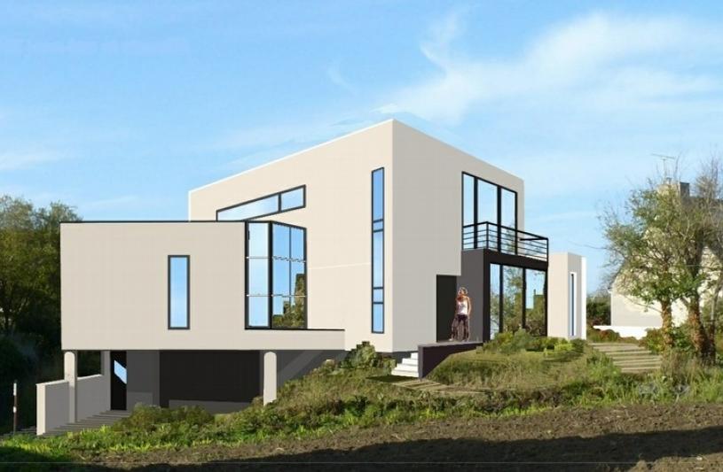 Le gal perducat architectes ordre des architectes for Projet maison individuelle