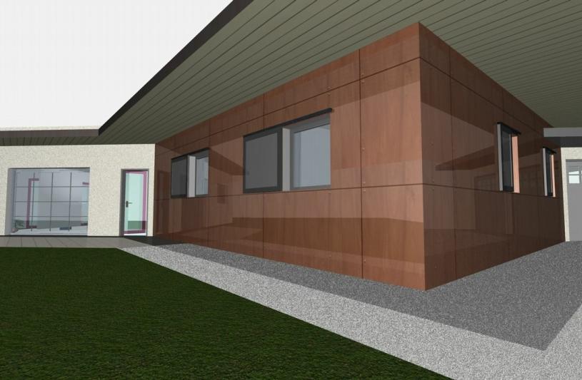 Architecture Eric Agro ossature bois