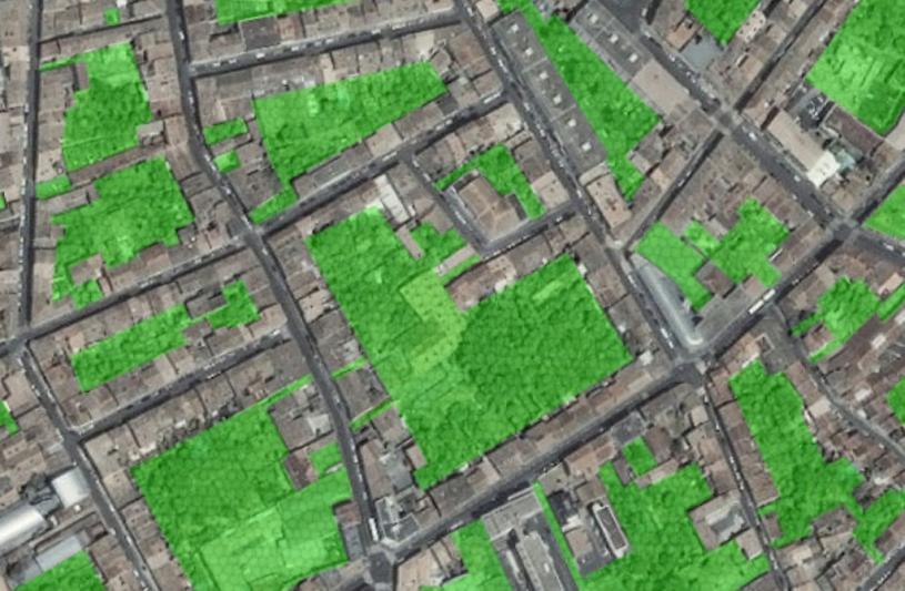 Végétalisation et urbansiation raisonnée des coeurs d'îlot bordelais.