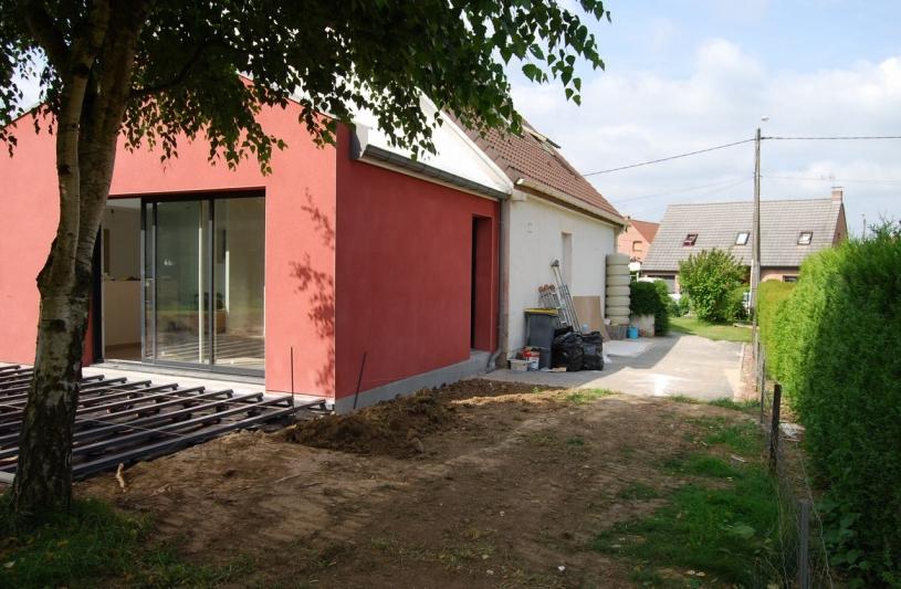 Plan b ordre des architectes for Habitation individuelle