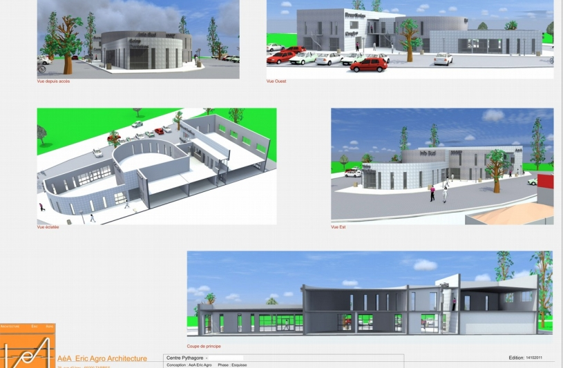 A a architecture eric agro tarbes hautes pyr n es for Aea architecte