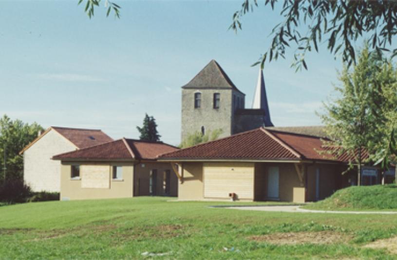 bibliothèque et extension école maternelle