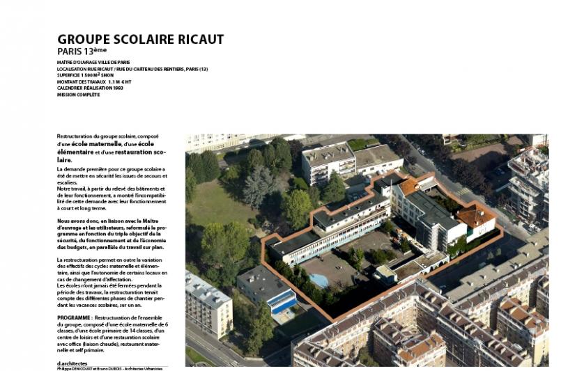 Philippe denicourt paris paris ordre for Ordre des architectes centre