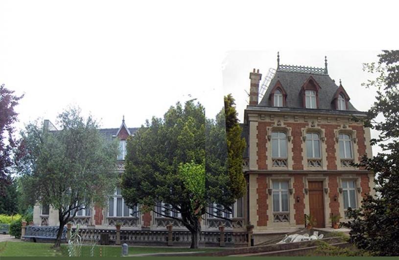 L'auberge Municipale = un manoir du XIX siècle