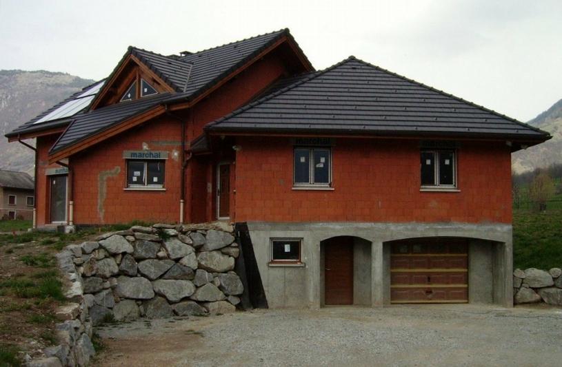 Architettura coluccio maisons en brique monomur ordre for Maison brique monomur