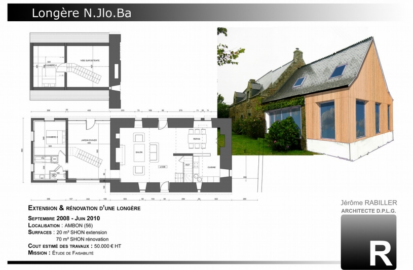 Agence rabiller morbihan ordre des architectes for Ordre des architectes centre