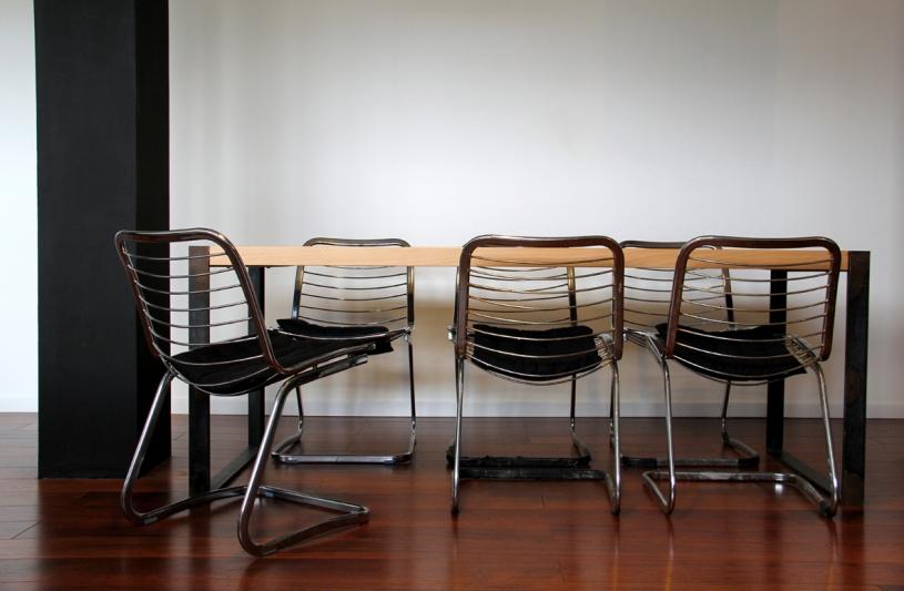 design - création d'une table - Atelier S / Toulouse - Sébastien NUTTENS architecte DPLG