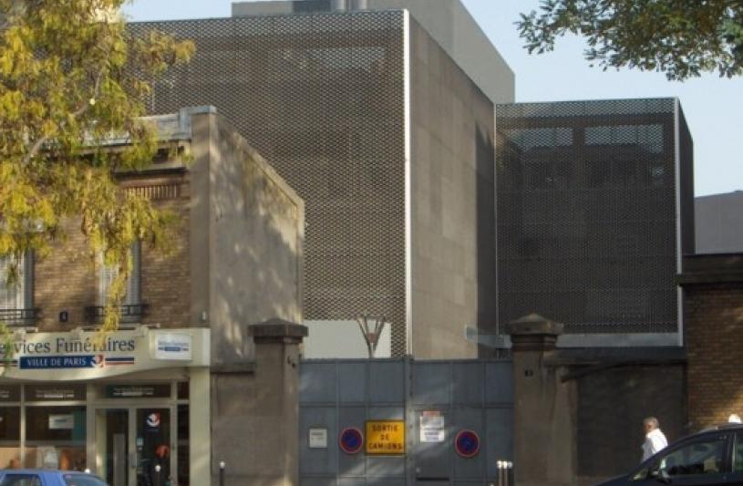 Vue depuis l'avenue de le porte de Saint Ouen