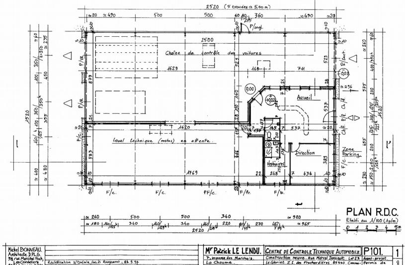 michel bonneau dplg olonne s mer les sables d 39 olonne 85 vend e ordre des architectes. Black Bedroom Furniture Sets. Home Design Ideas