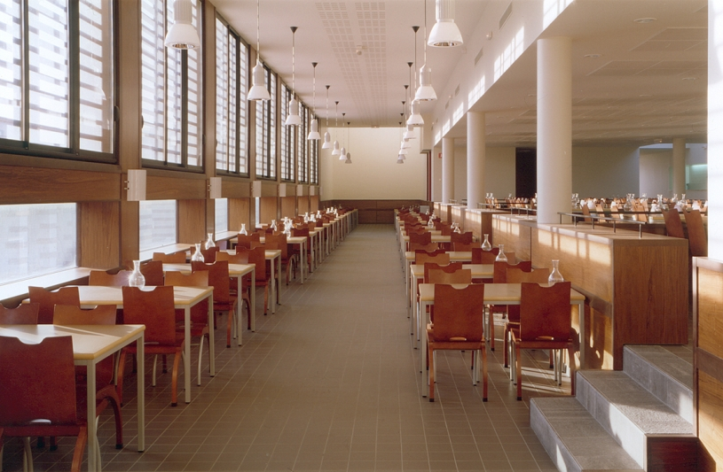 RESTAURANT UNIVERSITAIRE CROUS / 13 LOGEMENTS ETUDIANTS - AMIENS: salle à manger